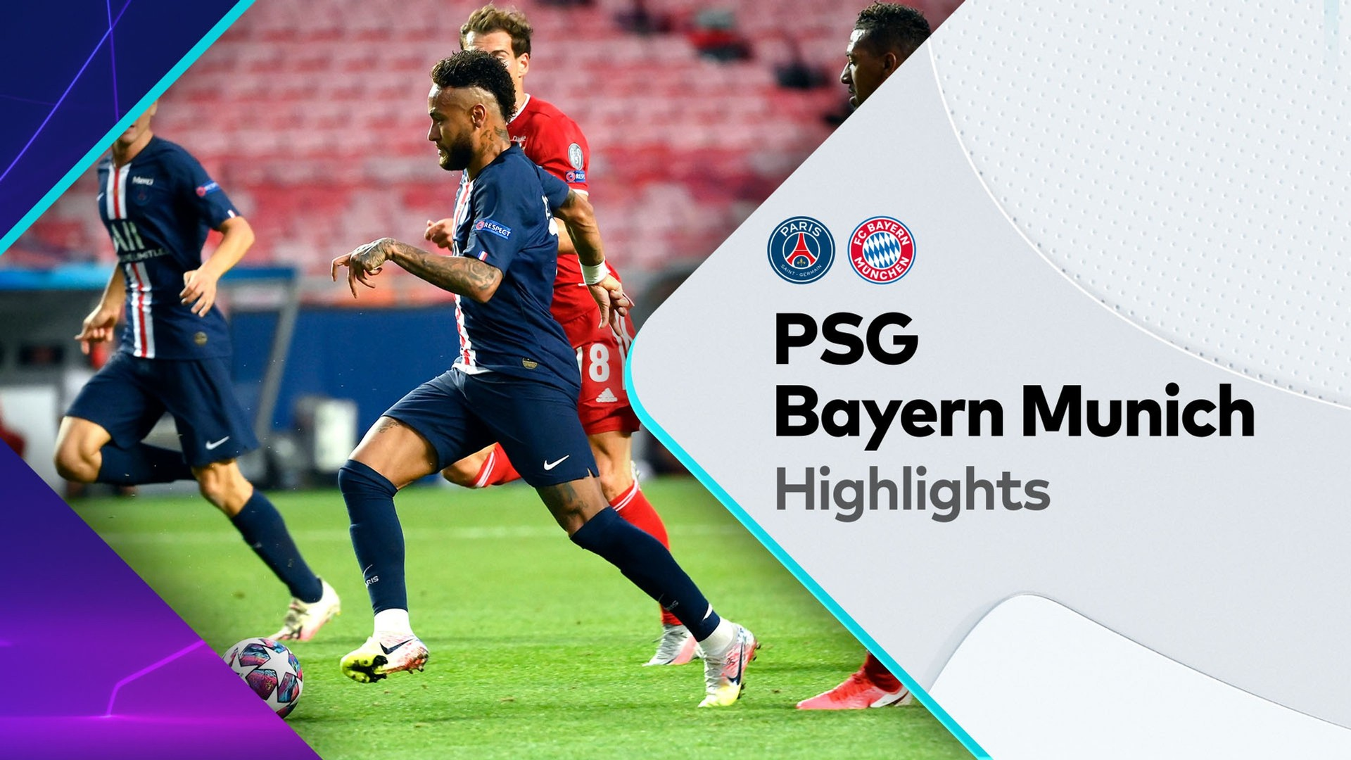 Highlights Paris Saint Germain V Bayern Munich Uefa Champions League 23 08 2020